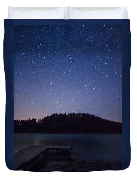 Deerfield Dock Duvet Cover