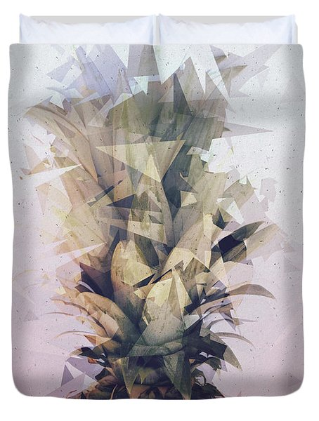 Defragmented Pineapple Duvet Cover