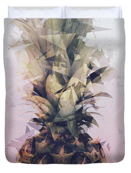 Defragmented Pineapple Duvet Cover