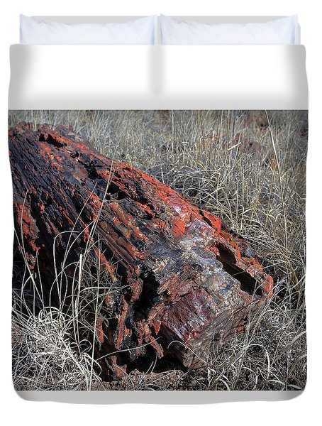 Defying Eternity Duvet Cover