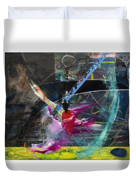 Degenerate Art Duvet Cover by Antonio Ortiz