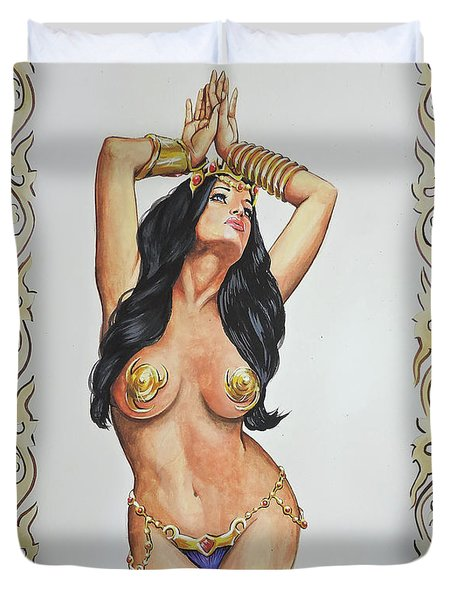 Dejah Thoris Duvet Cover