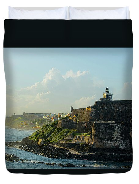 del Morro Sunrise Duvet Cover