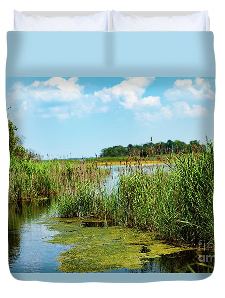 Delaware Marsh Duvet Cover