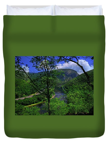Delaware Water Gap Duvet Cover