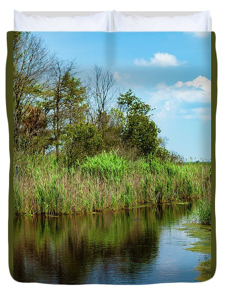 Delaware Waterway Duvet Cover