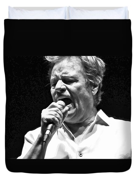 Delbert Mcclinton Sings The Blues Duvet Cover