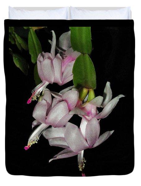 Delicate Floral Dance Duvet Cover