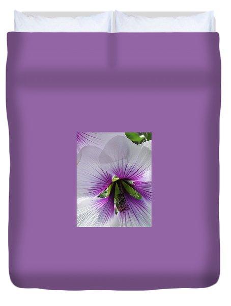 Delicate Flower 2 Duvet Cover