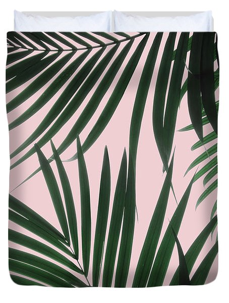 Delicate Jungle Theme Duvet Cover