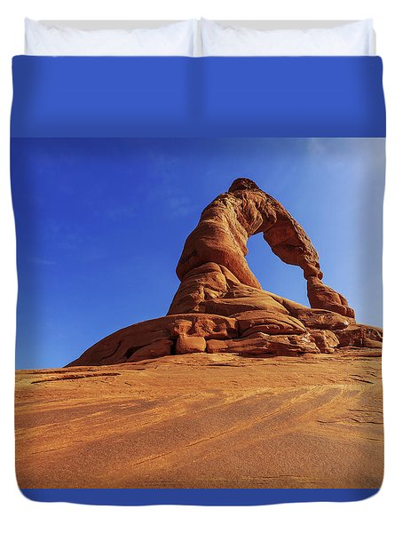 Delicate Perspective Duvet Cover by Chad Dutson