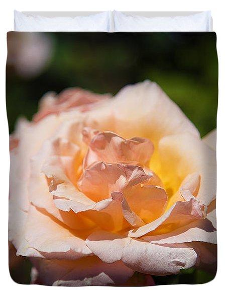 Delicate Rose Duvet Cover