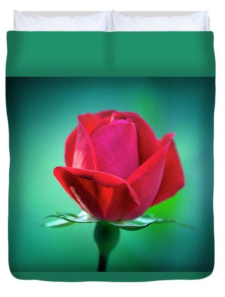 Delicate Rose Petals Duvet Cover