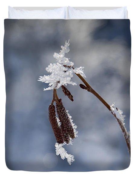 Delicate Winter Duvet Cover
