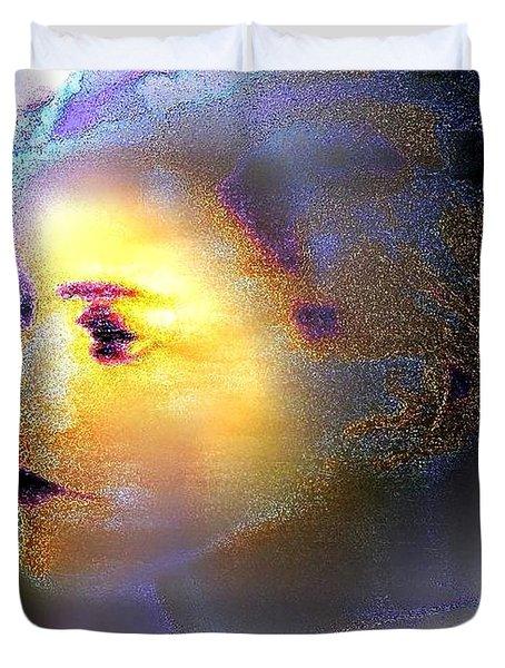 Delicate  Woman Duvet Cover