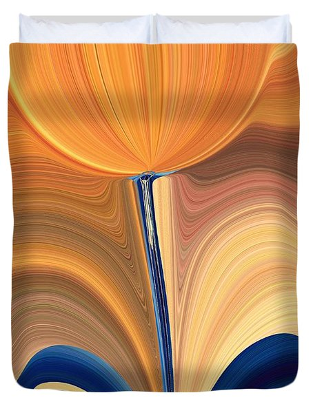 Delighted Duvet Cover by Tim Allen