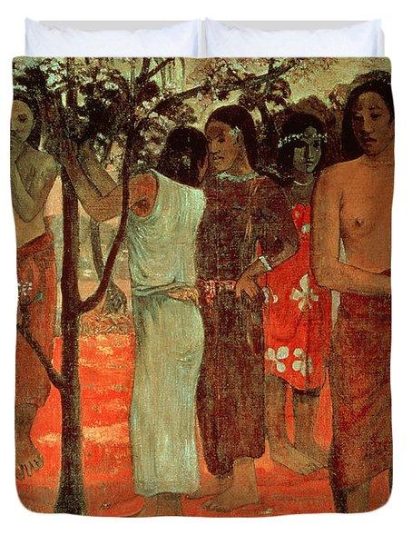 Delightful Days Duvet Cover by Paul Gauguin