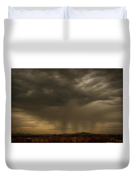 Deliver The Rain Duvet Cover