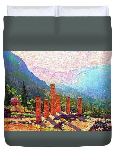 Delphi Magic Duvet Cover