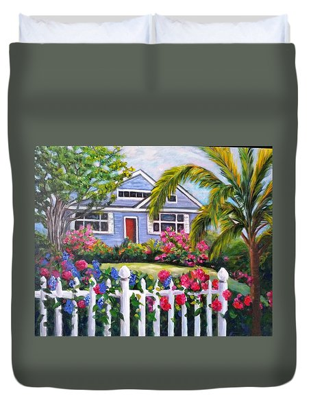 Delray Beach Duvet Cover