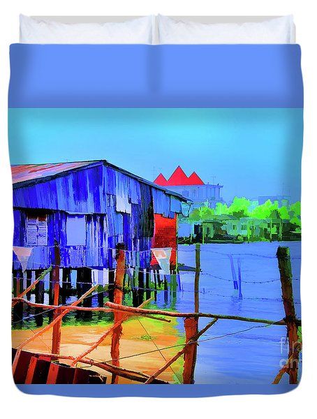 Delta Cove Duvet Cover