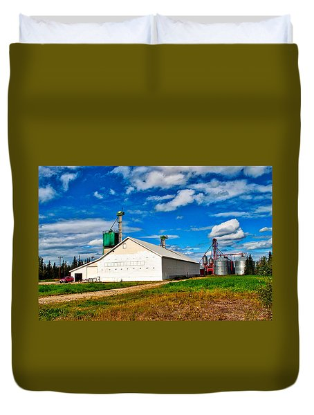 Delta Farmers Co Op Duvet Cover