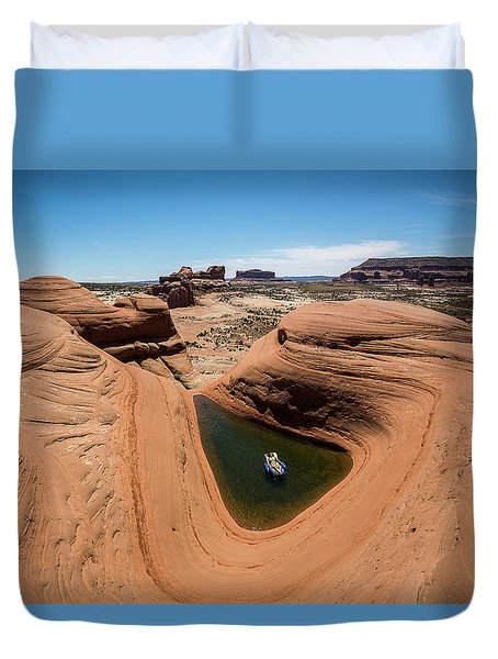 Delta Pool 2 Duvet Cover