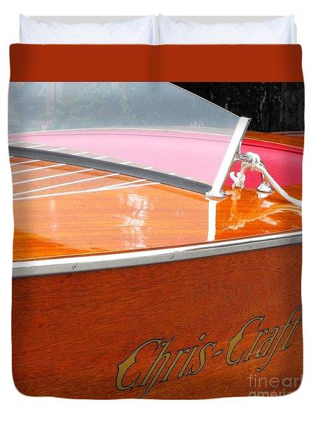 Chris Craft Deluxe Duvet Cover