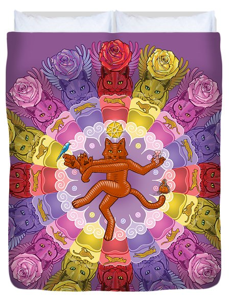 Deluxe Tribute To Tuko Duvet Cover