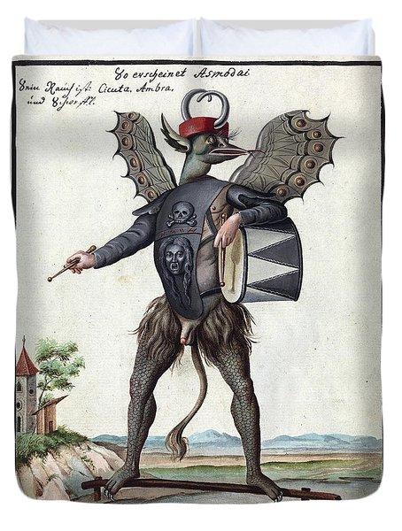 Demon, 1057 Duvet Cover
