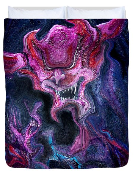 Demon Fire Duvet Cover