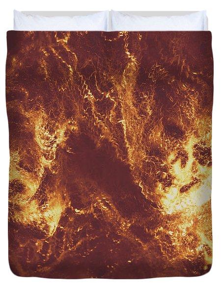 Demon Hellish Nightmare Duvet Cover