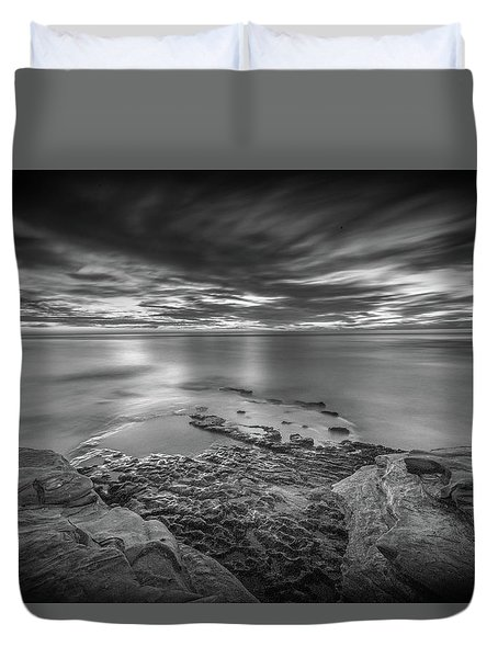 Demon Sky Duvet Cover by Peter Tellone