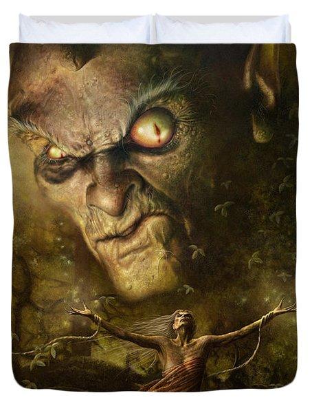 Demonic Evocation Duvet Cover