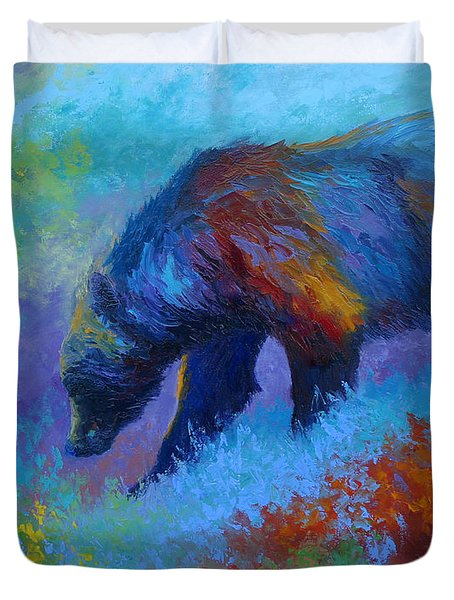 Denali Grizzly Bear Duvet Cover
