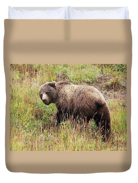 Denali Grizzly Duvet Cover