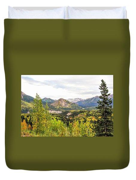 Denali National Park Landscape No 2 Duvet Cover