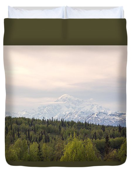 Denali Produces Its Own Weather Duvet Cover by Allan Levin