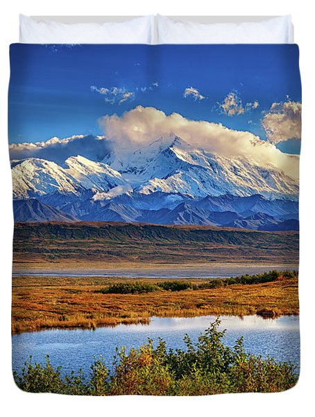 Denali, The High One Duvet Cover