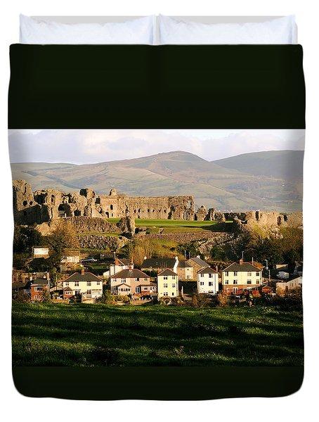 Denbigh Castle Duvet Cover