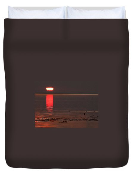 Duvet Cover featuring the photograph Denmark Summer by Colette V Hera  Guggenheim