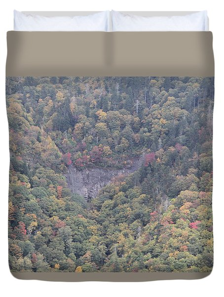 Dense Woods Duvet Cover