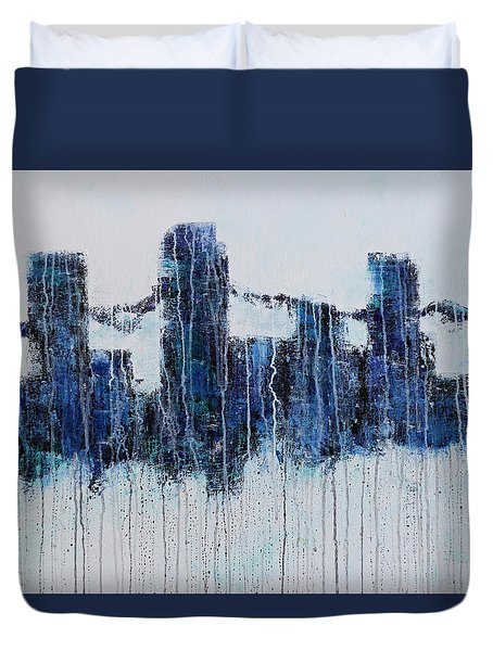 Denver Rain Duvet Cover