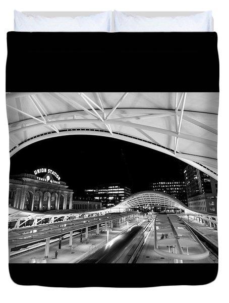 Denver Union Station 1 Duvet Cover