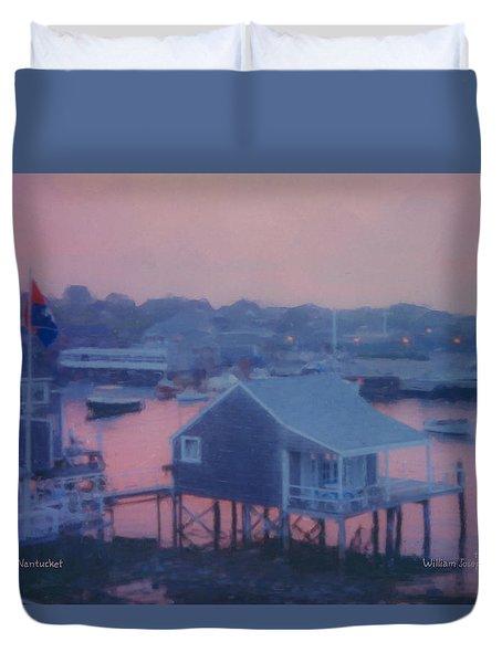 Departing Nantucket Duvet Cover