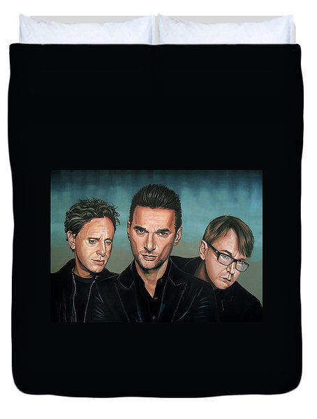 Depeche Mode Painting Duvet Cover