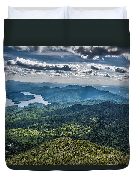 Depth View Duvet Cover