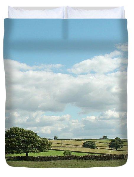 Derbyshire Landscape Duvet Cover