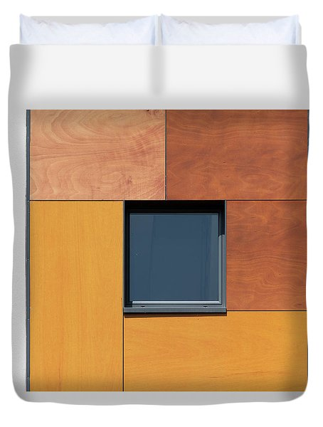 Derbyshire Window Duvet Cover