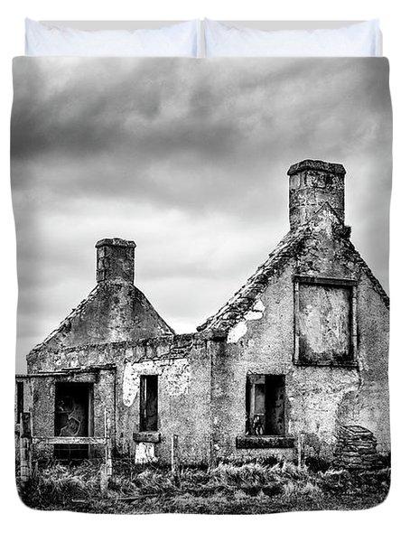 Derelict Croft Duvet Cover